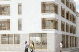 Construction foyer médical
