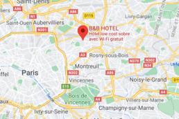 Romainville Hôtel B&B