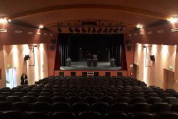 Rénovation de la salle Maurice Béjart, salle de spectacle et cinéma