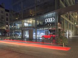 Show room d'Audi City