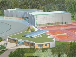 Tennis couvert et Club House