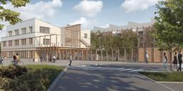 Ecole élémentaire et centre de loisirs d'Achères (78)